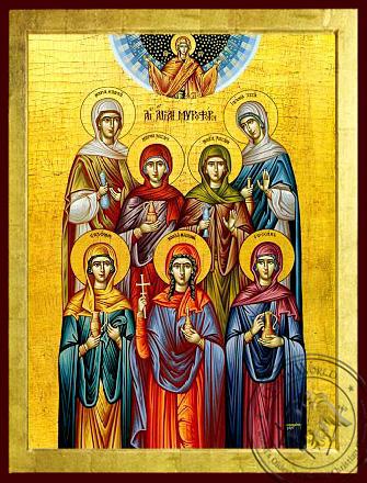 The Myrrh Bearers - Byzantine Icon
