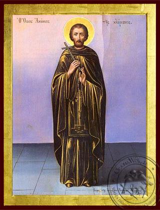 Saint Acacios - Byzantine Icon