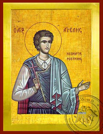 Saint Angeles - Byzantine Icon