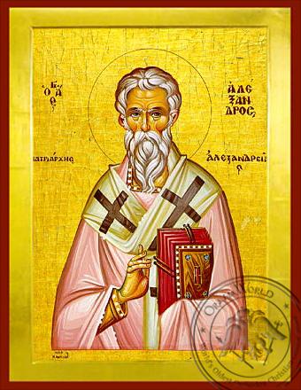 Saint Alexander, Patriarch of Alexandria - Byzantine Icon