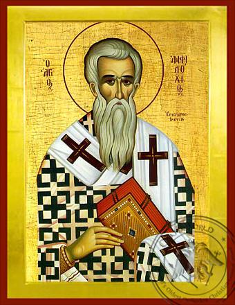 Saint Amphilochios - Byzantine Icon