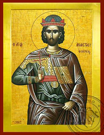 Saint Anastasios of Persia - Byzantine Icon