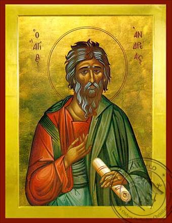 Saint Andrew the Apostle, the First-Called - Byzantine Icon