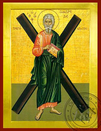 Andrew the Apostle - Byzantine Icon