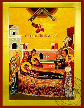 Saint Anne, Repose - Byzantine Icon