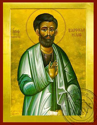 Saint Bartholomew the Apostle - Byzantine Icon