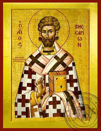 Saint Bessarion - Byzantine Icon