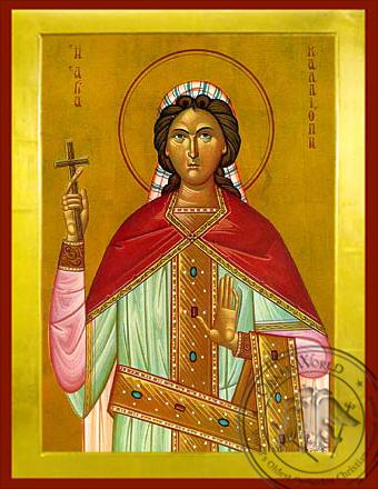 Saint Kalliope - Byzantine Icon