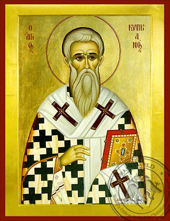 Saint Cyprian - Byzantine Icon