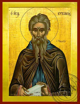 Saint Kyriakos - Byzantine Icon