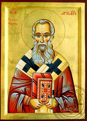 Saint Donatos - Byzantine Icon