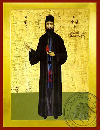Saint Ephraim of Mount Amomon - Byzantine Icon