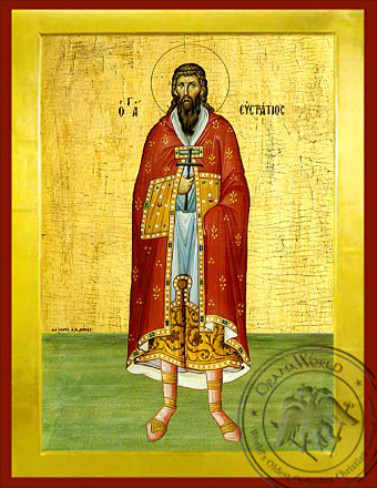 Saint Epiphanios - Byzantine Icon