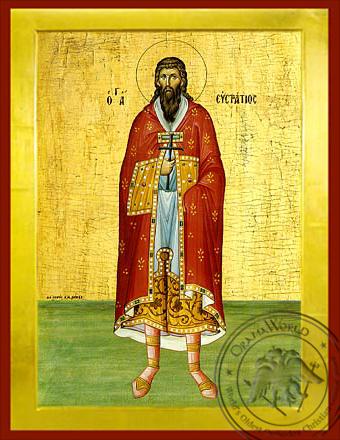 Saint Epiphanios - Byzantine Icon