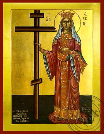Saint Helen, Full Body - Byzantine Icon