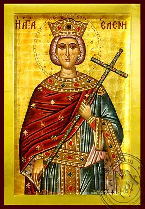 Saint Helen - Byzantine Icon