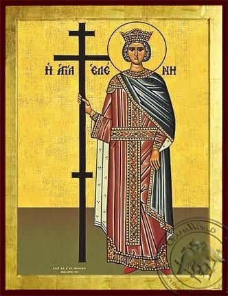 Saint Helen Full Body - Byzantine Icon