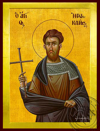 Saint Hercules at Carthage, Martyr - Byzantine Icon