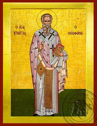 Saint Ignatius of Antioch - Byzantine Icon