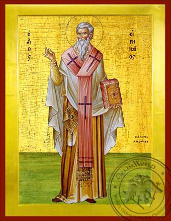 Saint Irenaeus - Byzantine Icon