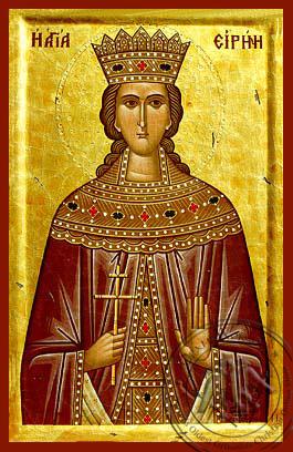 Saint Irene - Byzantine Icon