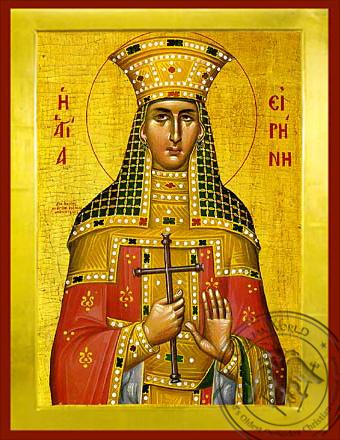 Saint Irene, the Great Martyr - Byzantine Icon