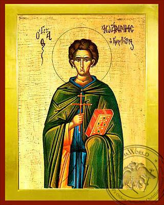 Saint John the Kalybites - Byzantine Icon