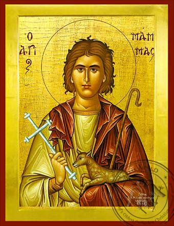 Saint Mamas - Byzantine Icon