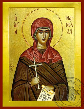 Saint Markella - Byzantine Icon