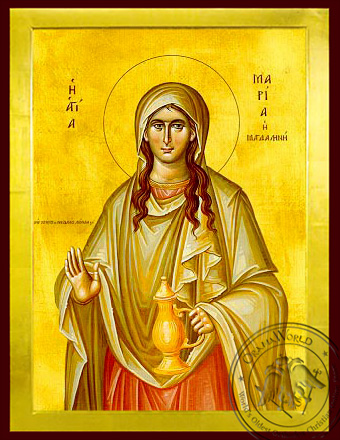 Saint Mary Magdalen, the Myrrh-Bearer - Byzantine Icon