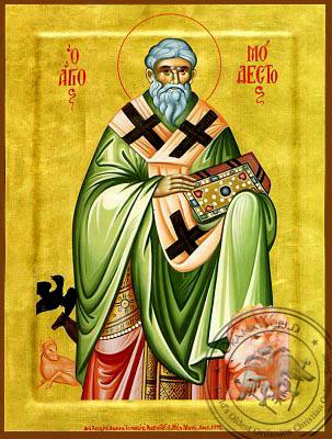 Saint Modestos - Byzantine Icon