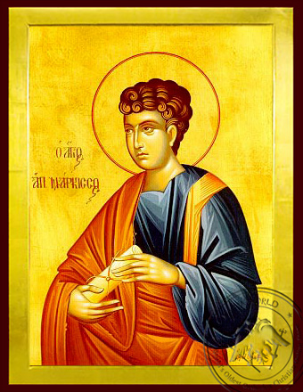 Saint Narcissus the Apostle - Byzantine Icon