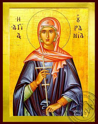 Saint Urania - Byzantine Icon