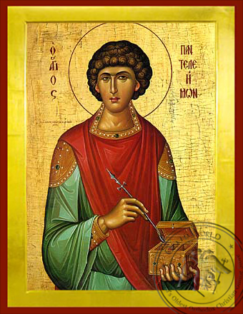Saint Panteleemon - Byzantine Icon