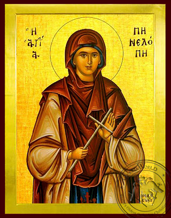 Saint Penelope - Byzantine Icon
