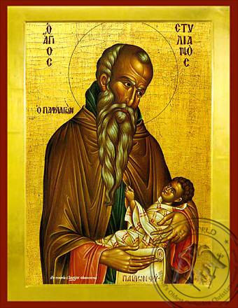 Saint Stylianos, of Paphlagonia - Byzantine Icon