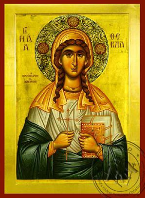 Saint Thekla - Byzantine Icon