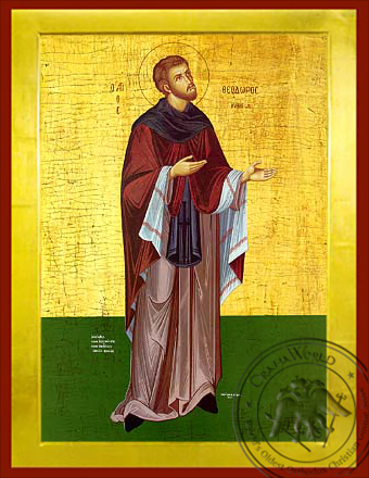 Saint Theodore of Kythera - Byzantine Icon