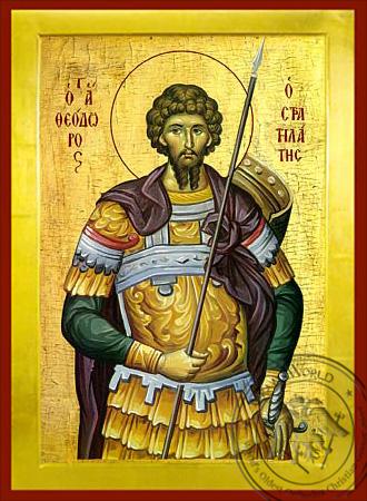 Saint Theodore the Stratelates - Byzantine Icon