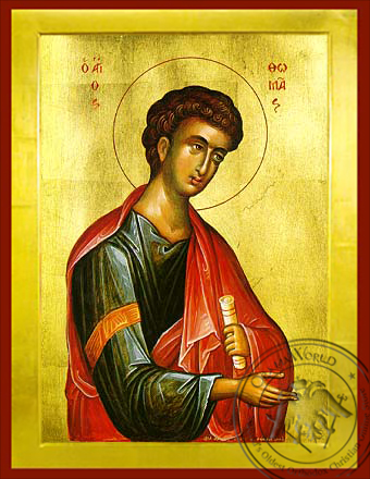 Thomas the Apostle - Byzantine Icon