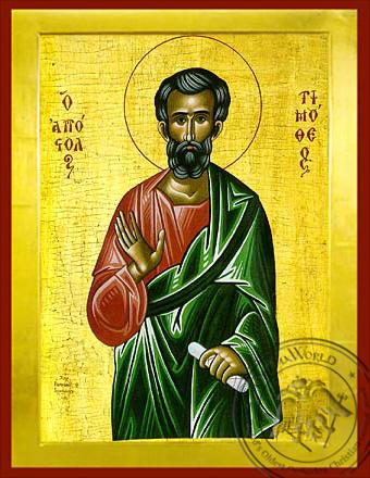 Timothy the Apostle - Byzantine Icon