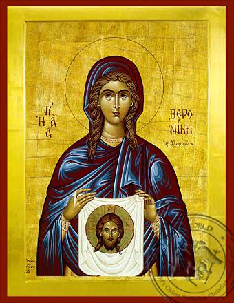 Saint Veronica - Byzantine Icon