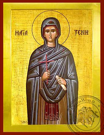 Saint Xene - Byzantine Icon