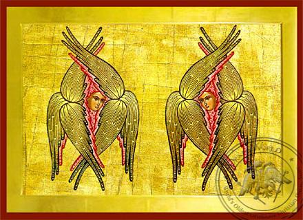 Six-Winged Seraphs - Byzantine Icon
