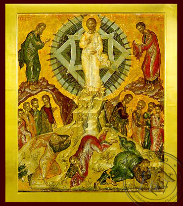 Transfiguration - Byzantine Icon