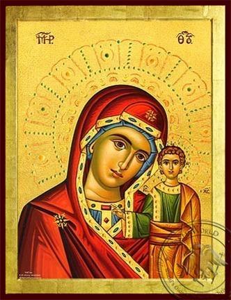 Virgin and Child Kazanskaya - Byzantine Icon