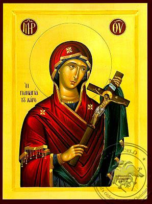 Virgin of the Charon - Byzantine Icon