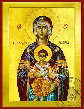 Virgin and Child, Eleutherotria - Byzantine Icon