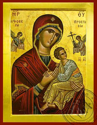 Panagia Formidable Protection - Byzantine Icon