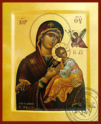 Virgin and Child, Formidable Protection - Byzantine Icon